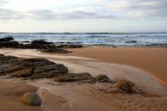 Pacífico en Stilbaai Foto de archivo libre de regalías