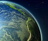 Pacífico oriental de la órbita stock de ilustración