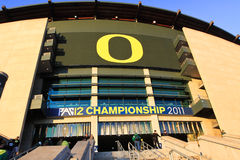 Free PAC-12 Championship Game - Autzen Stadium Royalty Free Stock Photography - 24813657