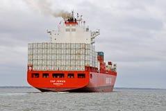 PAC JERVIS de navire porte-conteneurs photo libre de droits