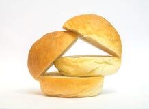 Pac man eats bread Stock Photography