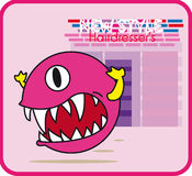 Pac-Mann lizenzfreies stockbild