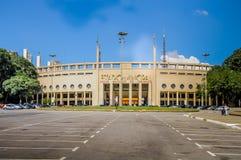 Pacaembu Gemeentelijk Stadion in Sao Paulo Stock Afbeeldingen