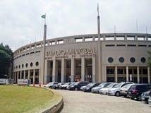 Pacaembu Stadium Stock Photo