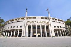 Pacaembu Stadium in Sao Paulo, Brazil Stock Image