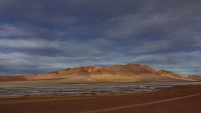 Pacana crater and salar timelapse in Atacama