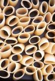 Paccheri, italian pasta Stock Images