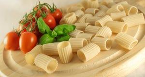 Paccheri italiano Fotografia Stock