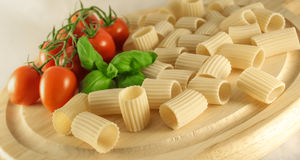 Paccheri italien photographie stock