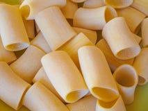 Paccheri pasta Stock Image