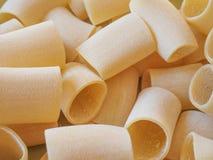 Paccheri pasta Royalty Free Stock Photo