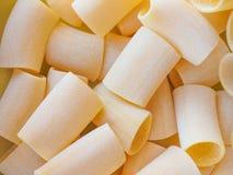 Paccheri pasta Stock Photo