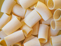 Paccheri pasta Stock Photography