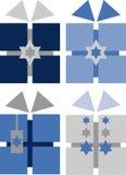 Pacchetti del regalo di Hanukkah Fotografie Stock Libere da Diritti