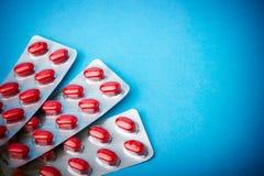 Pacchetti delle pillole Fotografie Stock Libere da Diritti