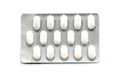 Pacchetti delle pillole mediche Immagini Stock
