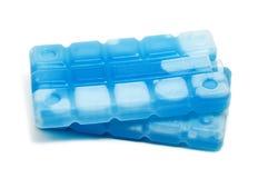 Pacchetti di ghiaccio Fotografie Stock