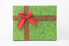 Pacchetti variopinti del regalo, nuovo anno, giorno del ` s del biglietto di S. Valentino Fotografia Stock