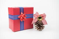 Pacchetti variopinti del regalo, nuovo anno, giorno del ` s del biglietto di S. Valentino Immagini Stock