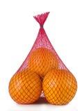Pacchetto arancio senza etichetta Immagini Stock