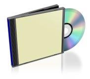 Pacchetto CD normale Fotografie Stock