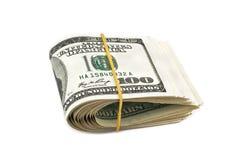 Pacchetto dei dollari Immagini Stock Libere da Diritti