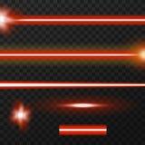 Pacchetto dei raggi laser Immagine Stock Libera da Diritti