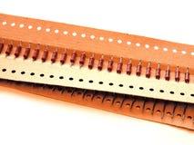 Pacchetto dei resistori Immagine Stock