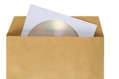 Pacchetto del compact disc. Fotografie Stock Libere da Diritti