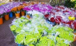 Pacchetto del fiore per vendita Fotografia Stock Libera da Diritti
