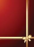 Pacchetto del regalo Fotografia Stock
