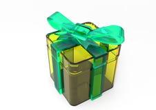 pacchetto del regalo avvolto nastro Immagine Stock Libera da Diritti