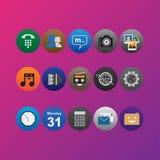 Pacchetto dell'icona (colore) Immagine Stock Libera da Diritti