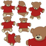 Pacchetto dell'orso dell'orsacchiotto Fotografie Stock Libere da Diritti