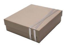 Pacchetto della scatola di cartone Fotografie Stock