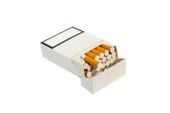 Pacchetto della sigaretta fotografie stock