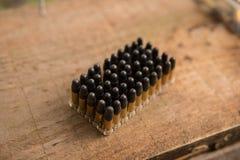 Pacchetto delle coperture delle munizioni Fotografie Stock