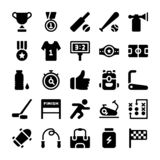 Pacchetto delle icone di sport illustrazione vettoriale