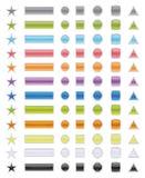 Pacchetto delle icone (vettore) fotografia stock