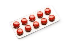 Pacchetto delle pillole Fotografia Stock Libera da Diritti