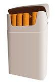 Pacchetto delle sigarette Fotografia Stock Libera da Diritti