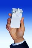 Pacchetto delle sigarette bianco Immagine Stock Libera da Diritti