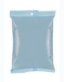 Pacchetto dello spuntino del sacchetto di plastica immagini stock libere da diritti