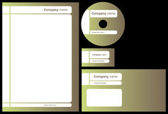 Pacchetto di affari illustrazione vettoriale
