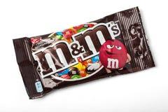 Pacchetto di arachide M&M Immagine Stock Libera da Diritti