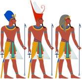 Pacchetto di faraone di egitto antico per il pesach Fotografie Stock Libere da Diritti