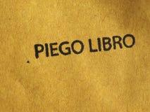 Pacchetto di libro di Piego Fotografie Stock Libere da Diritti