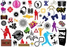 Pacchetto di valore: Elementi di disegno Fotografie Stock