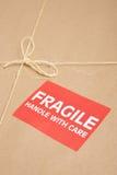 Pacchetto fragile Immagini Stock
