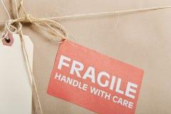 Pacchetto fragile Fotografia Stock